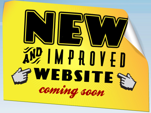 New and improved website